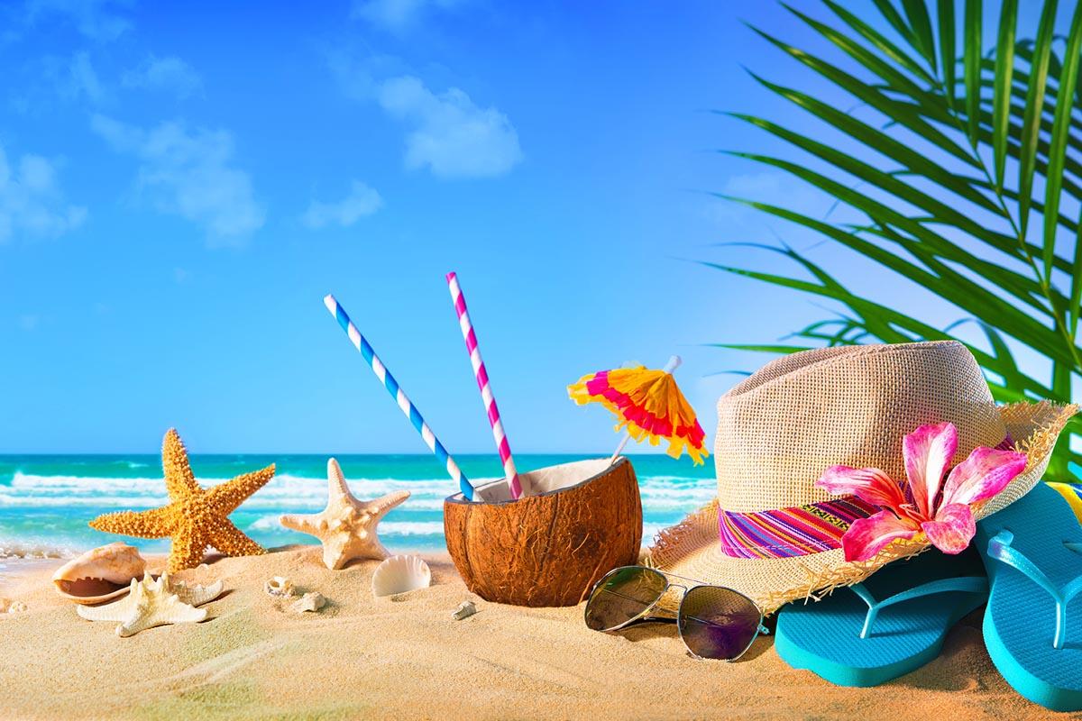 Mare con spiaggia, estate 2020